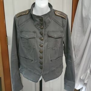 Free People Military Inspired Short Jacket